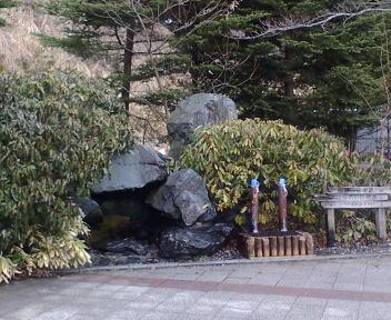 谷川岳の天然水(上り線)