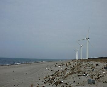 紫雲寺風力発電