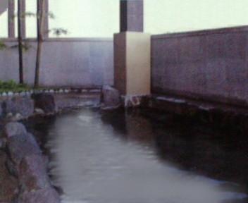 柵の湯 露天風呂