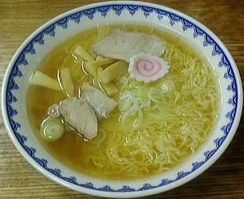 三吉屋 中華そば(大盛)