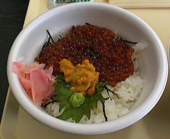 にいがた冬食の陣当日座 ウニ・いくら丼