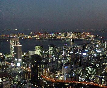 東京タワー お台場方面