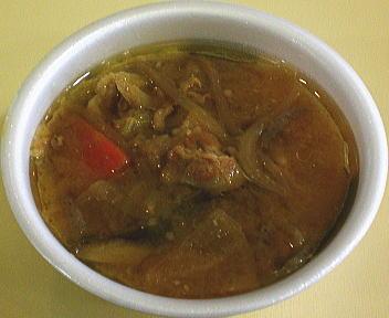 黒豚汁(味噌)