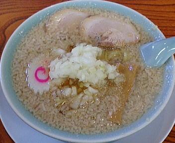 こころ 背脂ラーメン(細麺:背脂微多)