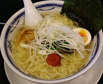 ほうとく高田店 梅入り塩ラーメン