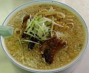 安福亭千手店 排骨麺