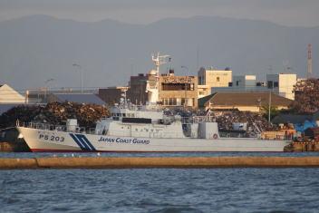 伏木海上保安部 巡視船のりくら