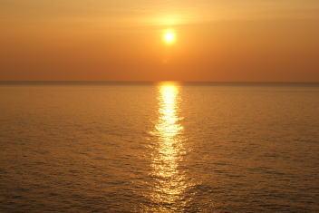 夕日 20080517