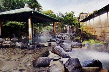 龍泉 野天風呂