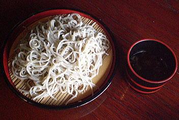 やま仙 山菜そば(そば)