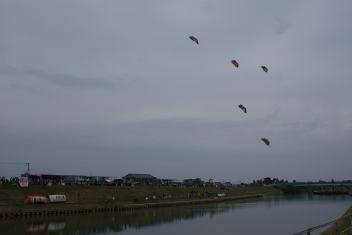 白根大凧合戦 巻凧