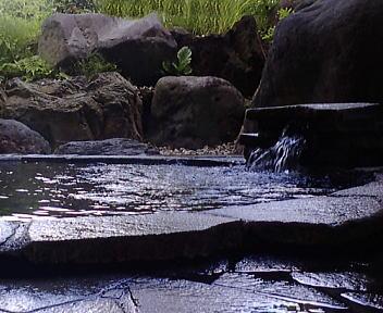 北野天満温泉 露天風呂
