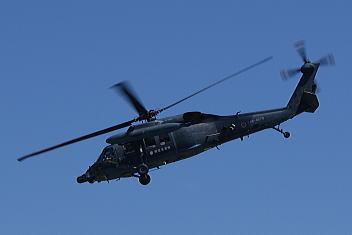 新潟分屯基地創設45周年記念 展示飛行 UH-60J