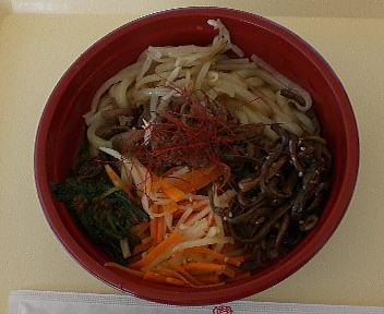 涼麺フェア 韓国風冷しうどん