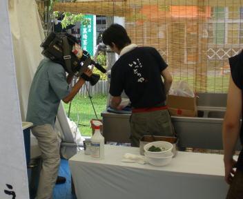 涼麺フェア UX取材