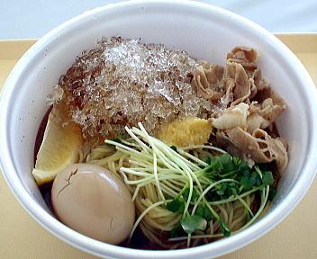 涼麺フェア 氷麺(しょうゆ味)