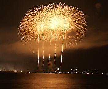 ぎおん柏崎まつり 海の大花火大会