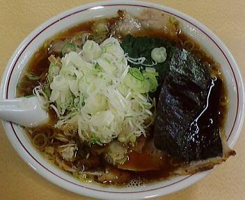 青島西掘 チャーシューメン+ねぎ50+ほうれん草50