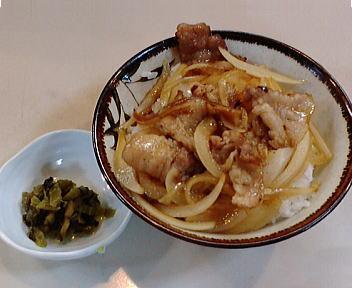 ひよこ 焼き肉丼(セット)