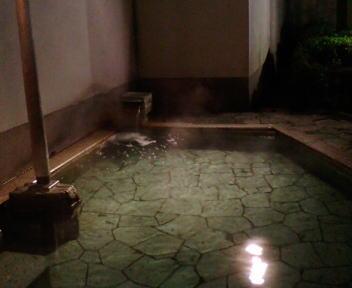 伊香保温泉 黄金の湯館 露天風呂