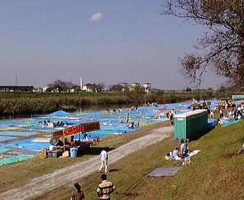 土浦の花火 会場(到着)