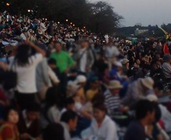土浦の花火 会場