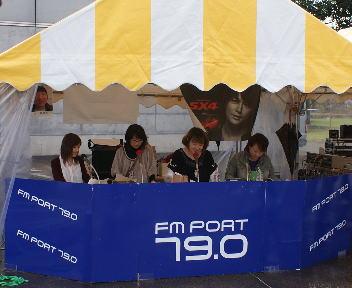 長岡造形大学 大学祭 FM Port 「MOVE ON STREET」公開放送