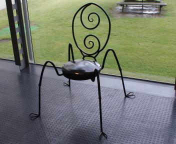 長岡造形大学 大学祭 学内展 椅子