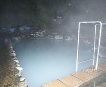 燕温泉 河原の湯 露店風呂
