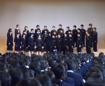 文化祭 2008 合唱コンクール
