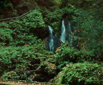 白玉の滝 雌滝