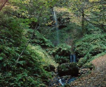 白玉の滝 雄滝
