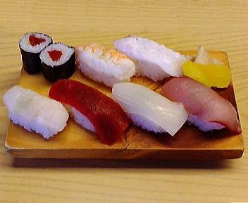 寿司清 ランチ(にぎり)