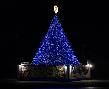 聖籠町 クリスマスイルミネーション