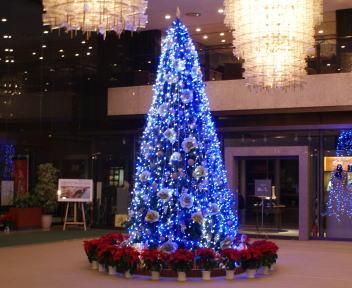 ホテルオークラ新潟 クリスマスツリー