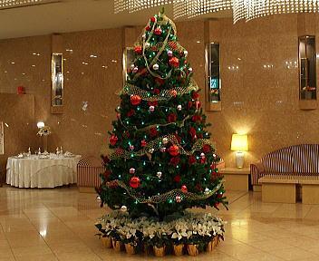 新潟グランドホテル クリスマスツリー