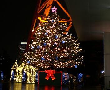 東京タワー クリスマスツリー