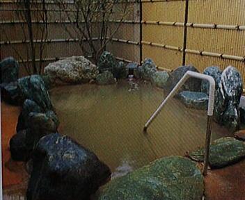鳥海温泉 あぽん西浜 露天風呂