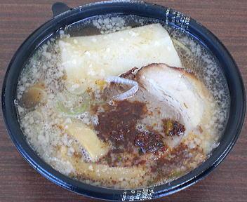 城下町しばた全国雑煮合戦 麺食房欅 欅ラーメン