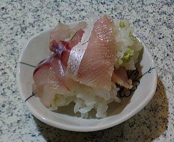 じじ&ばば ブリちらし寿司