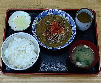 北陸自動車道 大積PA上り 群馬県永井食堂もつ煮定食