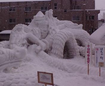 十日町雪祭り 雪像