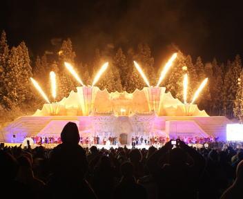 十日町雪祭り 雪上カーニバル バブルガム・ブラザーズ