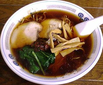 大江戸 醤油ラーメン