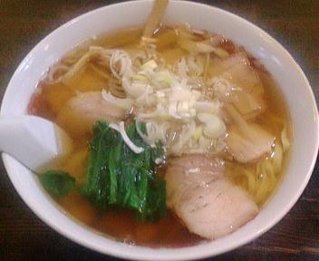 くら田 ラーメン(大盛・平麺)