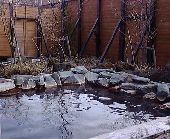 安曇乗鞍温泉 天峰の湯 露天風呂