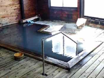蟹場温泉 木風呂