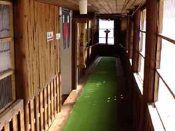 蟹場温泉 廊下
