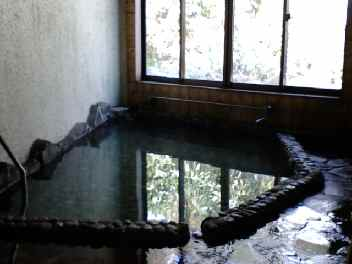 蟹場温泉 岩風呂