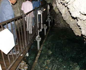 龍泉洞 百間廊下 地底川